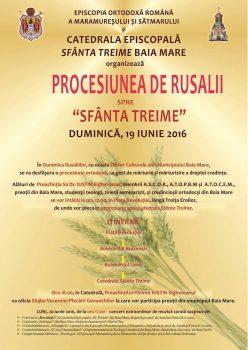 procesiunea de rusalii