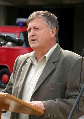 Incze Ludovic - primarul comunei Halmeu