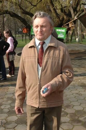 Fazekas Lorand - presedinte al Sucursalei Satu Mare a Societatii Ornitologice Romane