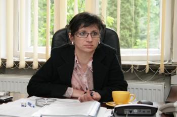 Diana Mitrut - managerul Spitalului Orasenesc Negresti Oas