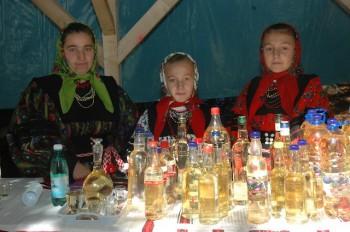 Fete din Oas la Festivalul international al palincii - editia 2010