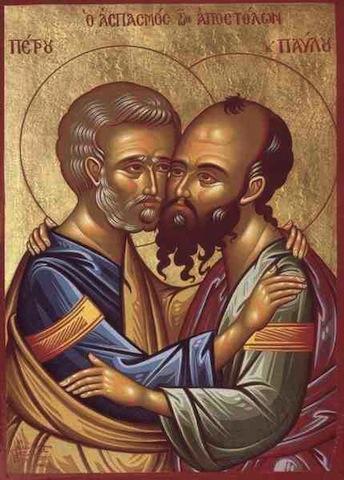 Slujbă arhierească la Biserica greco catolică Sfinţii Apostoli Petru şi Pavel din Satu Mare
