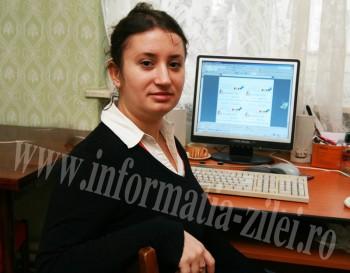 Cristina Bala - directoarea Asociatiei Stea Satu Mare