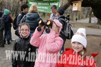 Imagine de la editia din 2012 - Ziua Internationala a Pasarilor sarbatorita la Satu Mare