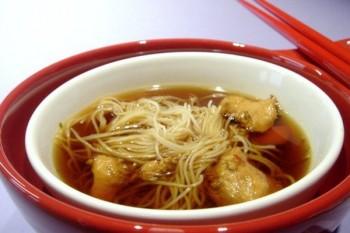 Supa chinezeasca dulce-acrisoara