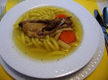 Supa limpede de fazan