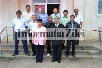 Primarul si membrii consiliului local Agriş