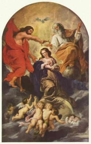 Incoronarea Sfintei Fecioare Maria