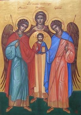 Sfintii Arhangheli Mihail Gavril si Rafael