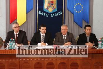 Ministrul Daniel Constantin s-a intalnit cu fermieri satmareni
