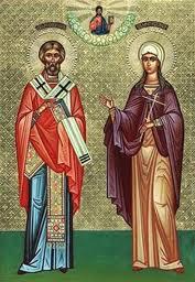 Sfintii Cristan si Darie