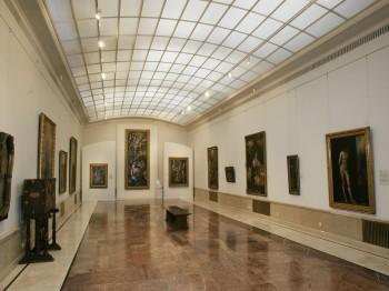 Interior din Muzeul Naţional de Artă al României