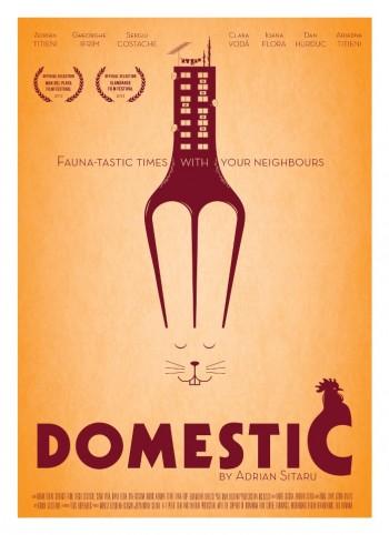 """Afişul internaţional al filmului """"Domestic"""""""