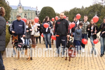 Mars de sensibilizare de Ziua Mondiala a Sindromului Down