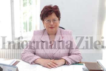 Eugenia Sabou, directoarea CJP Satu Mare