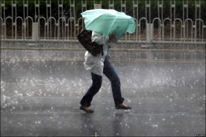 Furtuna, ploaie
