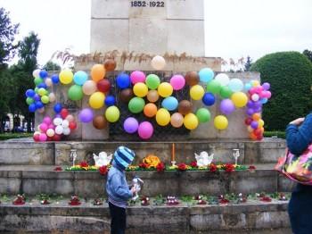 Val de lumină la Satu Mare în memoria copiilor care nu mai sunt printre noi
