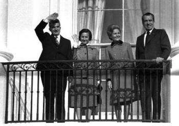 ceausescu-nixon in 1969