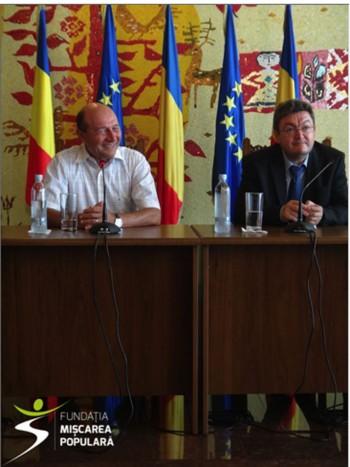 Basescu la Fundatia Miscarea Populara