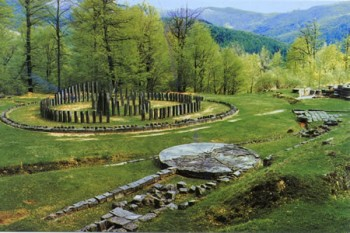 Sarmizegetusa Regia - zona sacră
