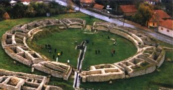 Lupte între gladiatori reconstituite la Ulpia Traiana Sarmizegetusa