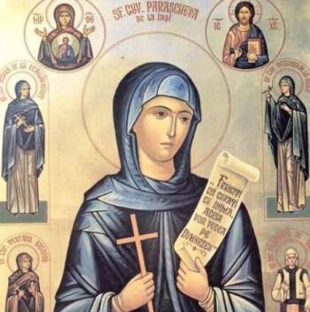 14 octombrie - Sărbătoarea Sfintei Cuvioase Parascheva
