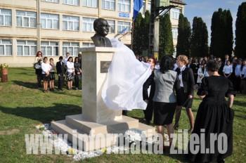 Dezvelirea bustului Gh Bulgar