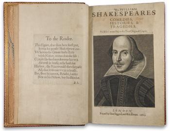 Ediţie princeps Shakespeare