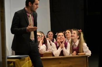 Dan Balint şi elevele lui