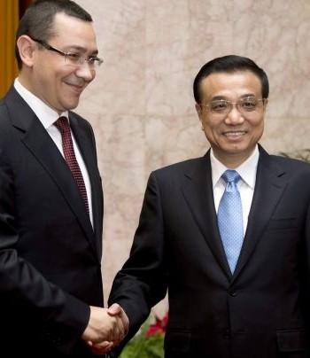 Premierii român şi chinez au tras concluziile summit-ului