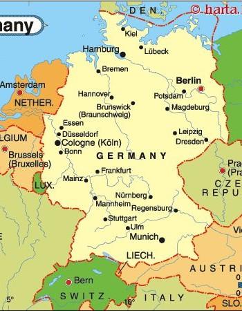 Harta Orasului Koln Germania
