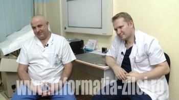 Medicii Cristian Rusu si Bogdan Feciche