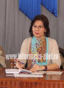 Georgeta Pop - directorul executiv al Casei Judetene de Asigurari de Sanatate