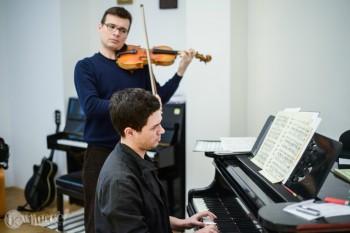 Alexandru Tomescu şi Eduard Kunz