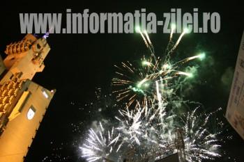 Artificii la Ziele Judetului Satu Mare