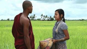 """Scenă din """"The Monk"""""""