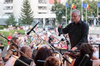 Franz Lamprecht la pupitrul Concertului estival din Satu Mare
