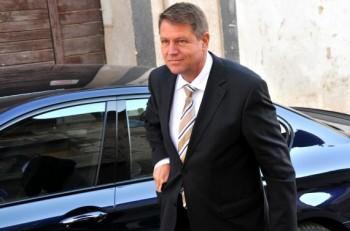 Klaus Iohannis a fost la Vila Dante