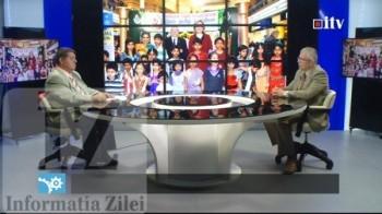 satmareanul Corneliu Chisu, membru al Parlamentului Canadei, in stuiodul Informatia TV