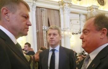 Klaus Johannis si Vasile Blaga dscuta despre motiunea de cenzura