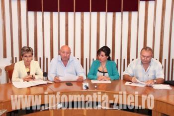 Ieri, la Primăria Satu Mare a avut loc o conferință de presă despre situația Teatrului de Nord