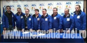 Membrii echipei de campanie ACL Satu Mare