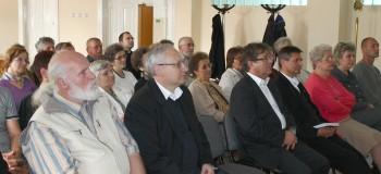Sala festiva a Centrului Scheffler Janos a fost plina de crestini interesati de temele prezentate