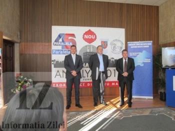 conferinta de presa a Agentiei Paralala 45 la Aeroportul international Satu Mare