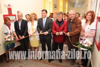 Secţia de interne, corp B de la Spitalul Vechi a fost inaugurată