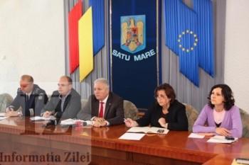 la videoconferinta pe tema alegerilor cu vicepremierul Gabriel Oprea