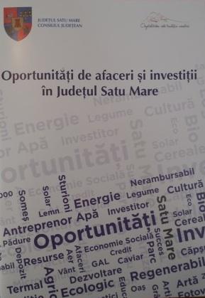 brosura lansata de CJ Satu Mare