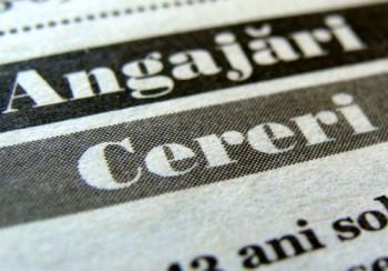 Peste 325.000 de pesoane s-au incadrat in piata muncii in primele luni ale acestui an