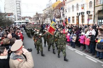 Parada militara de Ziua Nationala la Satu Mare