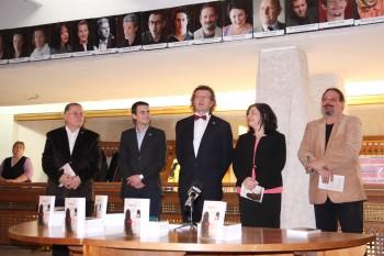 Autorul, editorul și invitații lor